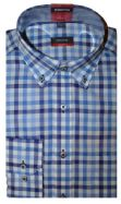 Eterna Shirt - 4560/19 X244 - Blue Check